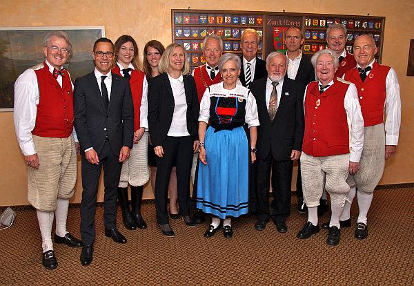 2014 Sechseläuten Zunftmeister und Gäste