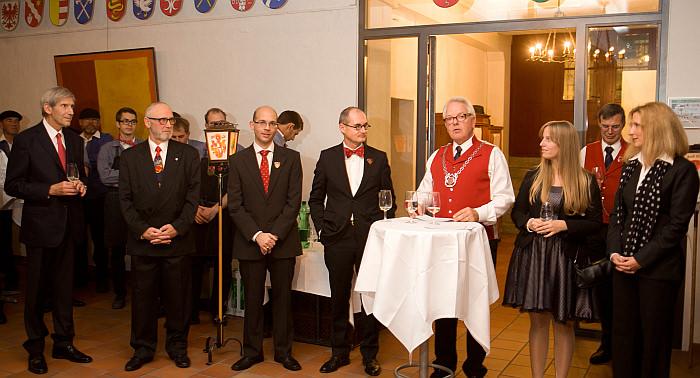 Rechenmahl 2013 Zunftmeister und Ehrengäste
