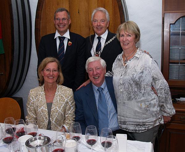 Weinprobe 2014 mit den Aussie-Winzern