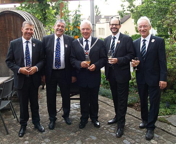 Weinprobe 2014 der Zunftmeister mit den Ehrengästen