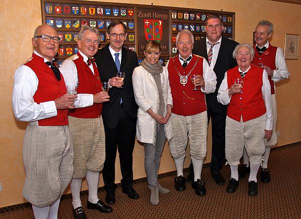 Sechseläuten 2015 Zunftmeister mit Ehrengäste