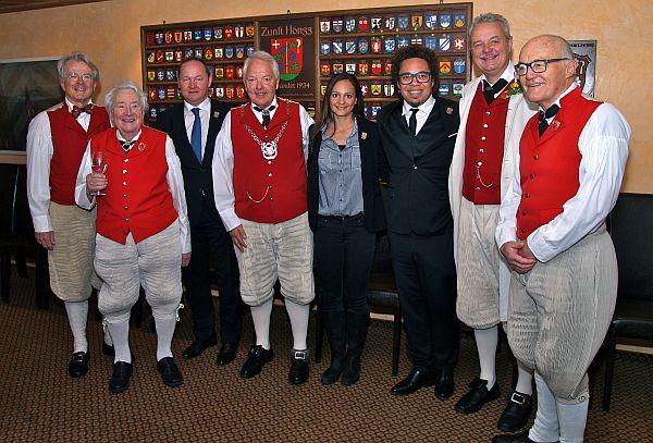 Sechseläuten 2016 Zunftmeister mit den Ehrengästen